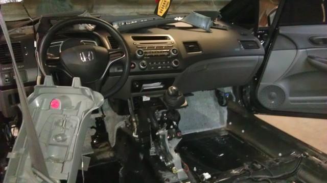 Шумоизоляция автомобиля Honda civic 4d