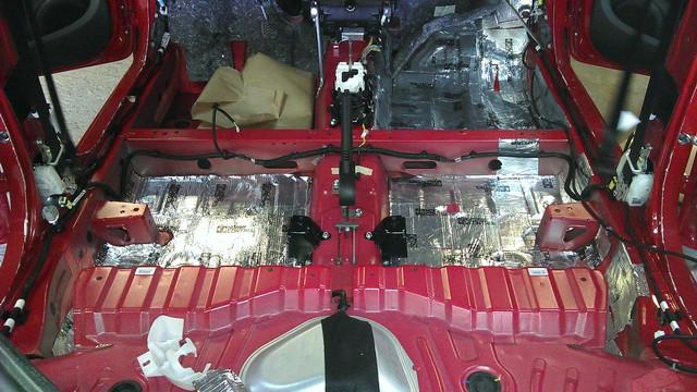 Шумоизоляция автомобиля Citroen C1